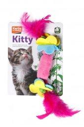 Karlıe Tüylü Kedi Oyuncağı 7cm