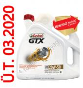 Castrol Gtx Lpg 20w50 4 Litre