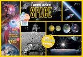 Clementoni National Geographic Kids I Need More Space 180 Parça Çocuk Puzzle