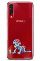 Samsung Galaxy A70s Kılıf Zombie Serisi Tatum