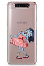 Samsung Galaxy A80 Kılıf Zombie Serisi Sabrina