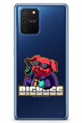 Samsung Galaxy A91 Kılıf Gamer Oyuncu Serisi Kathryn
