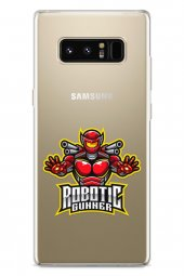 Samsung Galaxy Note 8 Kılıf Gamer Oyuncu Serisi Daniella