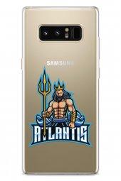 Samsung Galaxy Note 8 Kılıf Gamer Oyuncu Serisi Jordan
