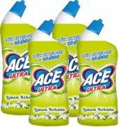 Ace Ultra Jel Limon Kokulu 810 Gr 4lü Paket