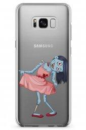 Samsung Galaxy S8 Kılıf Zombie Serisi Sabrina