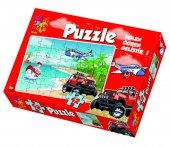 Laço Sahil Taşıtlar 42 Parça Çocuk Puzzle