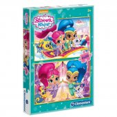 Clementoni 70282 Shimmer Shine 2x20 Parça Çocuk Puzzle