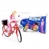 Pilli Renkli Işıklı Yerde Gezen Bisiklet 2688c