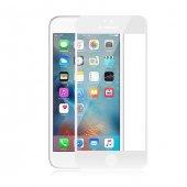 Melefoni Beyaz İnce İphone 6 6s Ekran Koruyucu 3d Cam