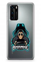 Huawei P40 Kılıf Gamer Oyuncu Serisi Katie