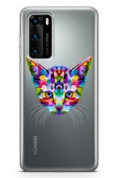 Huawei P40 Kılıf Wild Life Serisi Raelyn
