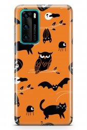 Huawei P40 Kılıf Halloween Serisi Mackenzie