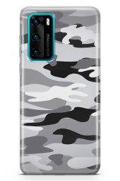 Huawei P40 Kılıf Kamuflaj Serisi Penelope