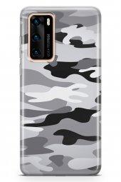 Huawei P40 Kılıf Kamuflaj Serisi Penelope-2