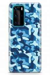 Huawei P40 Pro Kılıf Kamuflaj Serisi Evelyn