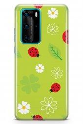 Huawei P40 Pro Kılıf Ladybug Serisi Iris