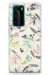 Huawei P40 Pro Kılıf Leaf Serisi London