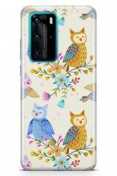 Huawei P40 Pro Kılıf Owl Serisi Mya