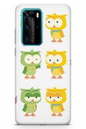 Huawei P40 Pro Kılıf Owl Serisi Anastasia