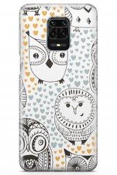 Xiaomi Redmi Note 9 Pro Kılıf Owl Serisi Teagan