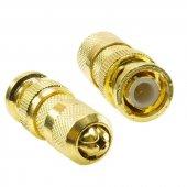Electroon Bnc Gold Altın Sarı Konnektör 50adet
