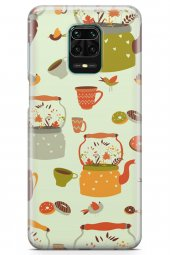 Xiaomi Redmi Note 9S Kılıf Tea Time Serisi Elliana