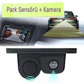 Oto Geri Görüş Araç Arka Kamerası Ses İkazlı Araç Park Sensörü