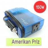 Adaptör 12 Volt 220 Volt Çevirici Oto Konverter, İnvertör 75 Watt