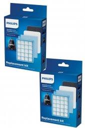 Philips FC 9530 PowerPro Active Orijinal Hepa Filtre Seti (2 Adet)