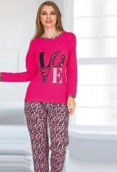Bayan Pijama Takımı 02304