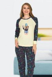 Bayan Pijama Takımı 02317
