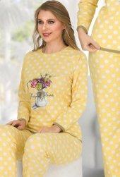 Bayan Pijama Takımı 02355-2