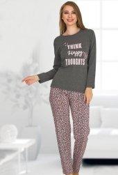 Bayan Pijama Takımı 02373-2