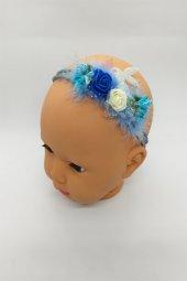 Melkady 087ma Çocuk Saç Bandı (Mavi)