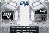GRAT MOTOR YAĞI 5W-30 TAM SENTETİK API SL/CF 4LT