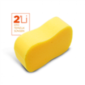 Wilma Secret Oto Yıkama Süngeri 2li-Sarı-2