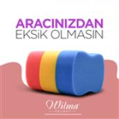 Wilma Secret Oto Yıkama Süngeri 2li-Sarı-6