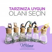 Wilma Secret 8 ml Askılı Oto Parfümü Mango-Fresh-Kavun - 3 Adet-6