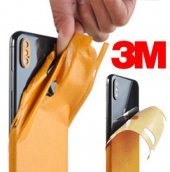 Xiaomi Mi 10 Jant Desenli Sticker 3M Kaplama