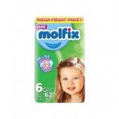 Molfix 6 Numara Extra Large 62 Adet Süper Fırsat Paket Bebek Bezi