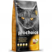 Prochoice Cat Pro 32 Sterilised Tavuklu...