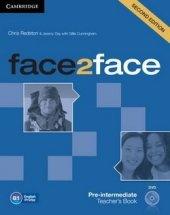 face2face Pre-intermediate Teachers Book with DVD
