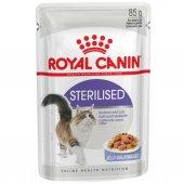 Royal Canin Sterilised Jelly Kısırlaştırılmış Kedi Konservesi 85 Gr