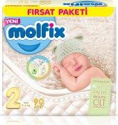 Molfix Bebek Bezi 2 Beden Mini Fırsat Paketi 90 X 3 270 Adet