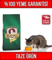 King Balıklı Yetişkin Kedi Maması 15 Kg