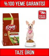 Enjoy Kuzu Etli & Pirinçli Köpek Maması 15 Kg