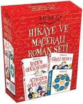 HİKAYE VE MACERALI ROMAN SETİ 4 KİTAP MELEK ÇE  UĞURBÖCEĞİ