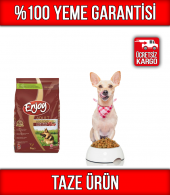 Enjoy Kuzu Etli & Pirinçli Köpek Maması 3 Kg