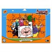 Adventure Time 24 Parça Frame Puzzle